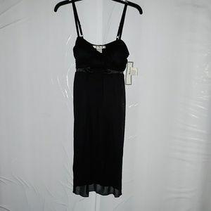 🎃La Belle black spaghetti strap dress